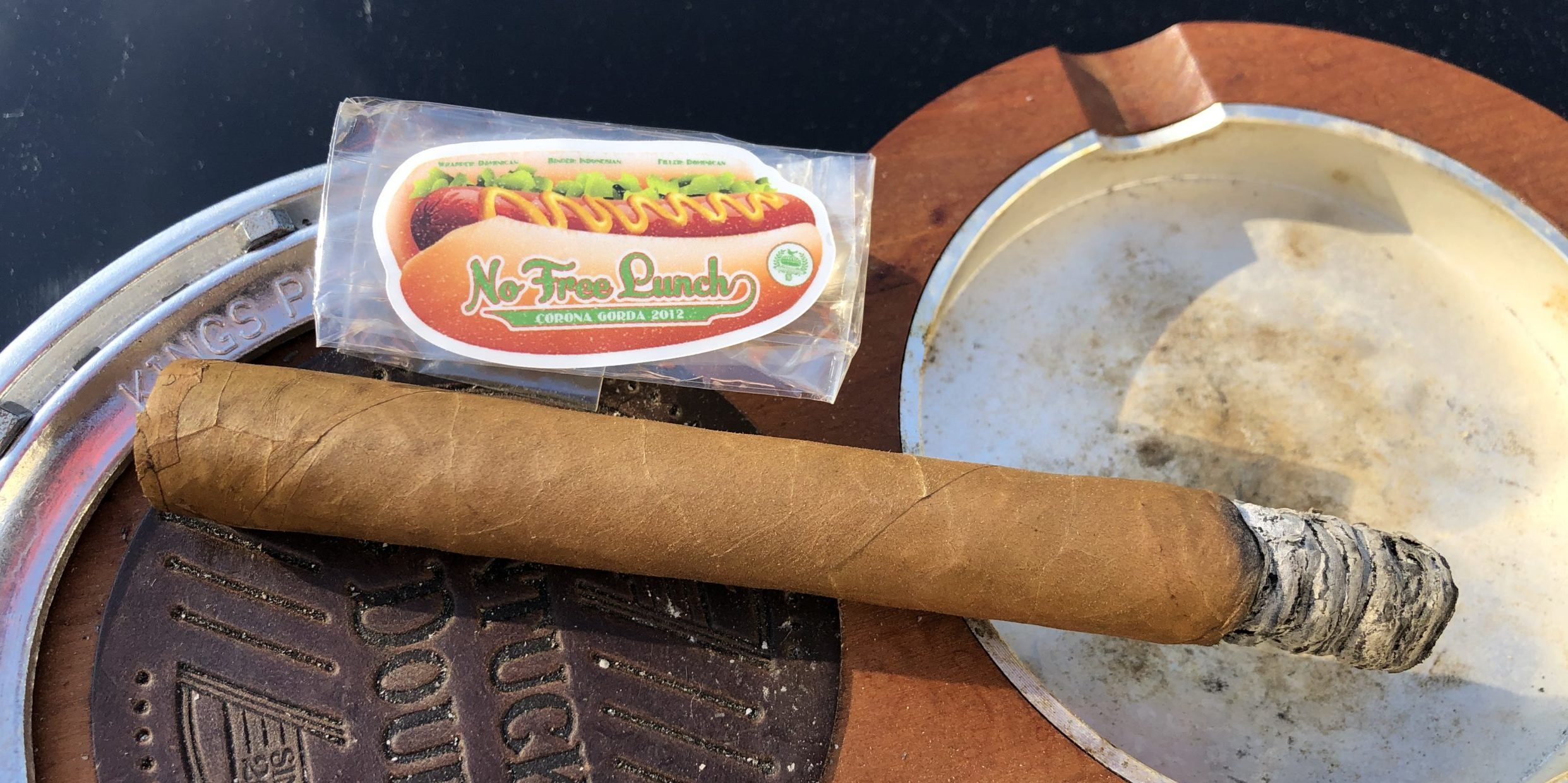 You are currently viewing Lost & Found No Free Lunch LE 2012 Corona Gorda Cigar Review
