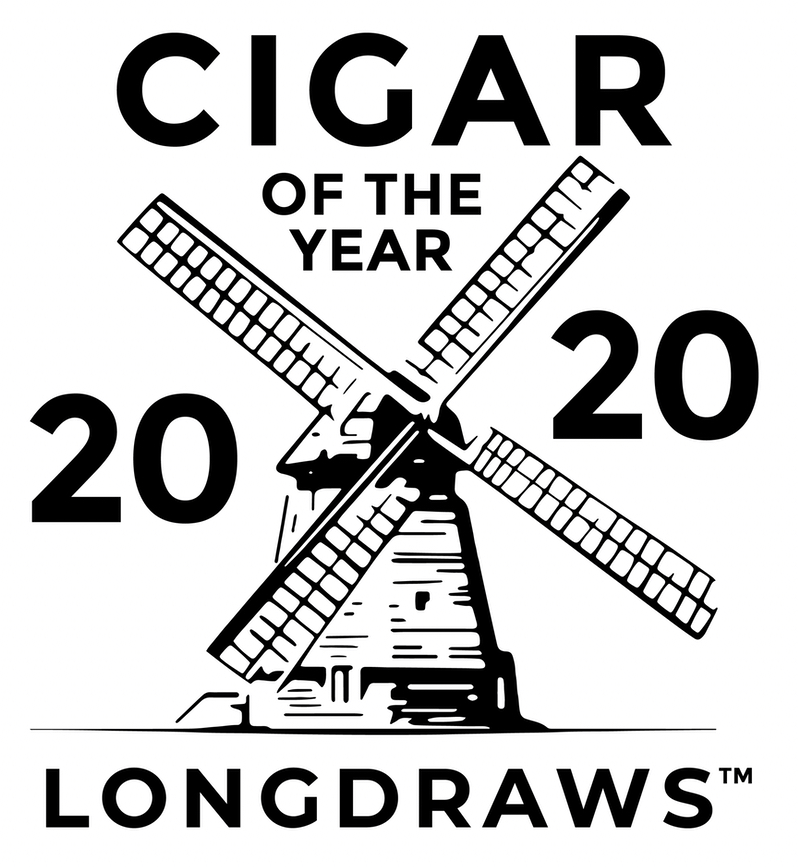 Longdraws Cigar of the Year 2020 with Windmill