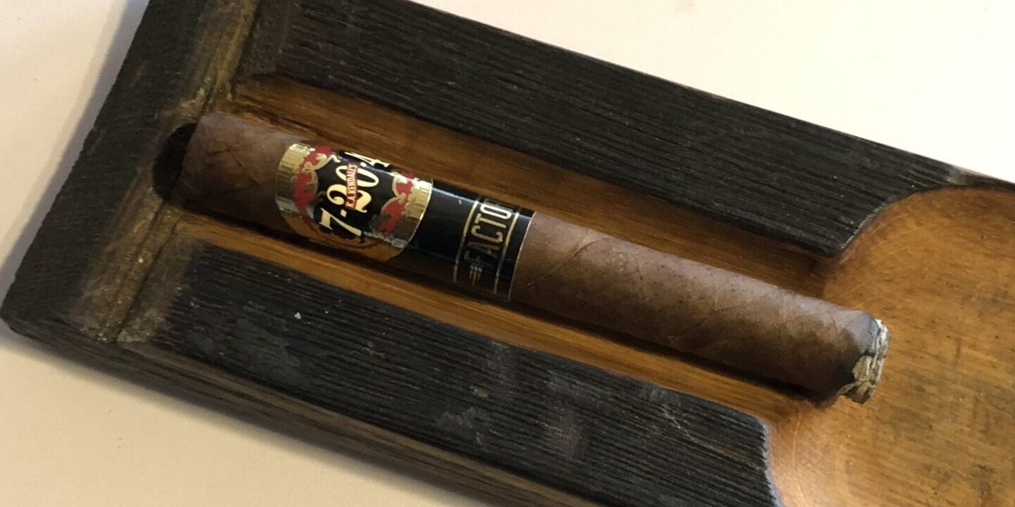 You are currently viewing 7-20-4 Factory 57 Dogwalker Cigar Review