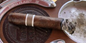 Read more about the article RoMa Craft CroMagnon Aquitaine Anthropology Grand Corona Cigar Review