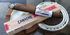 Read more about the article Camacho Liberty Series 2021 Churchill Cigar Review